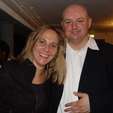 Mit Rolf Stahlhofen (ex-Söhne Mannheims)