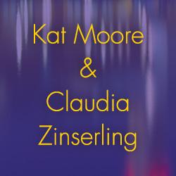 Kat Moore und Claudia Zinserling